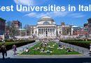 Top Universities in Italy