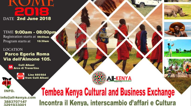 Tembea Kenya Rome 2018