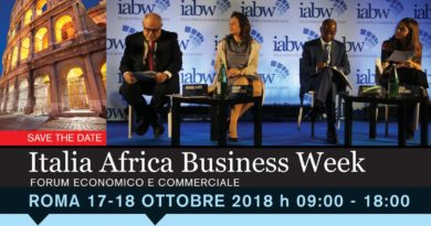 ITALIA AFRICA BUSINESS WEEK 2018