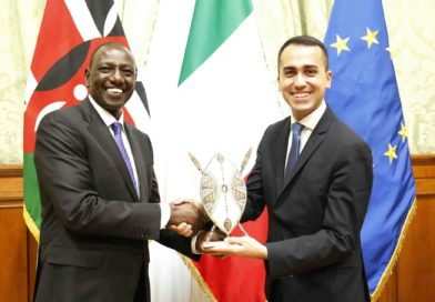 Italy pledges to help Kenya achieve its development agenda