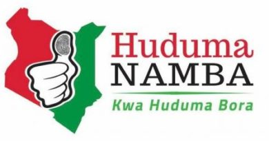 Huduma Namba Diaspora Registration