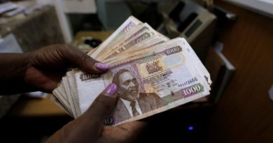 The Kenya Gazette on the withdrawal of Kshs. 1,000 Currency Notes
